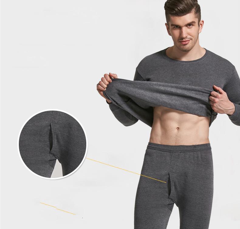 Thermal Underwear For Men Plus Size Thermal Underwear Set Winter Long Johns Men Warm Thermal Underwear Set Thermo Kleding 23