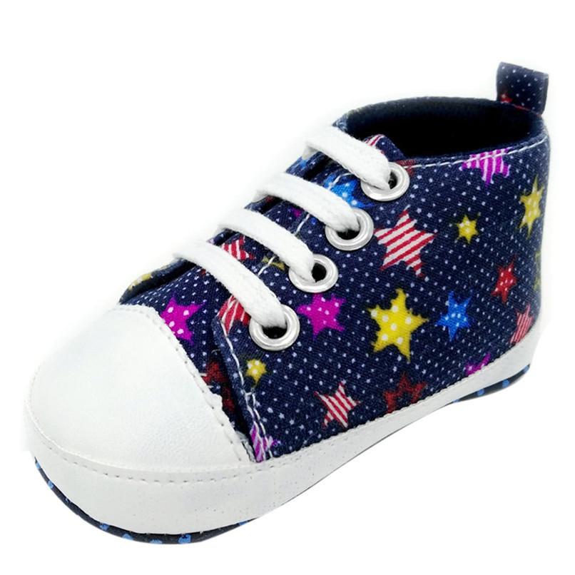 Baby Shoes Sneaker Anti-slip Soft Sole Toddler Colorful Canvas Shoes NDA84L16 (5)