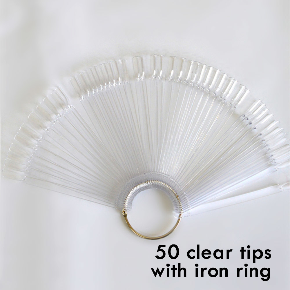 50 clear clear ring
