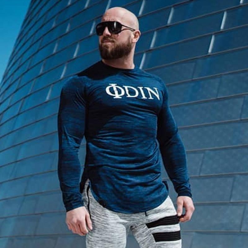 Men Long Sleeve T Shirt Sport gym shirt (10)