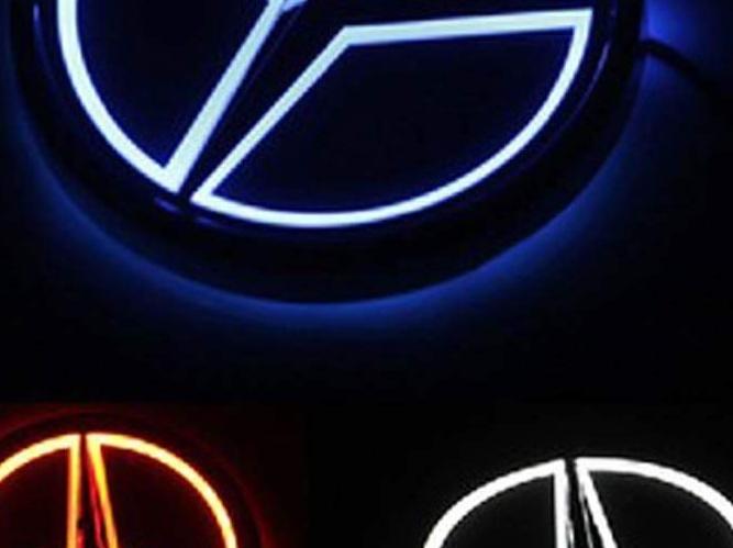 Ori Mercedes Emblema Estrellas Logotipo Dibujo Trasero Tapa E Clase W 210 CLK