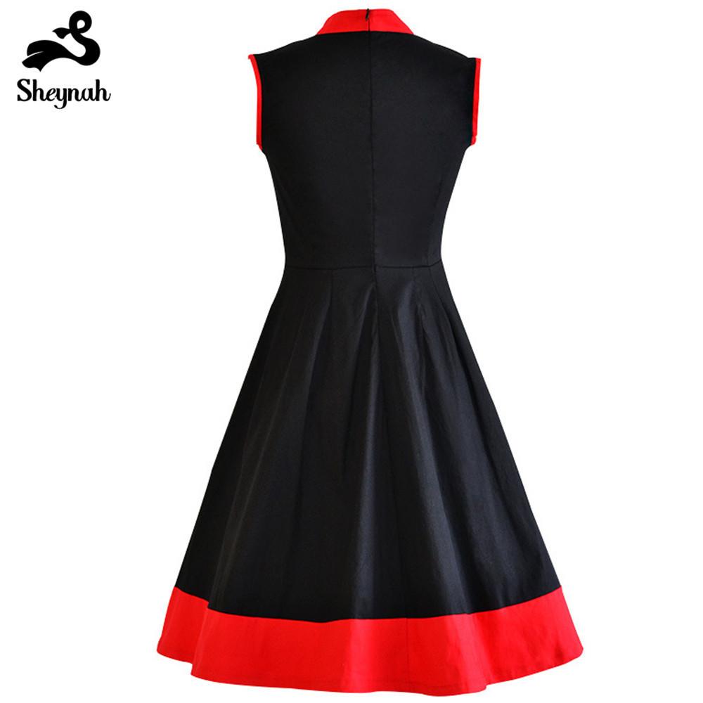 Plus Size Frau Kleid Vintage Chinesischen Stil Qipao Große Größe Retro Kleidung Stehkragen Sleeveless Elegant Abend Vestidos J190511