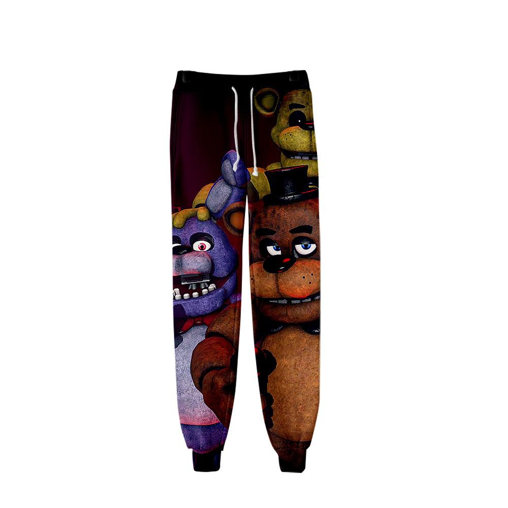 Cool-custom Printed Volcano Eruption Child Boys Girls Unisex Fashion Sweatpants