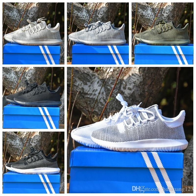 adidas Original Tubular Shadow Doom Primeknit 2018 Tubular Shadow Knit ultra Sneaker HOMME Chaussures de course à pied pour femme, tout en or blanc
