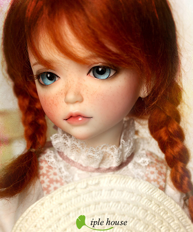 Free Face Make UP+Free Eyes 1//6 BJD Doll SD Doll Girl iplehouse kid lonnie