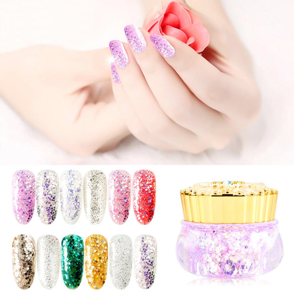 1 bottiglia 3D gel uv nail polish Scultura Gel Colorato Nail Art Tip Creativo Manicure Decorazione DIY vernis semi permanente uv # 79
