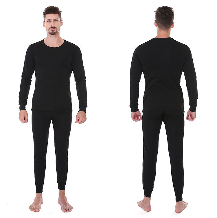 Thermal Underwear For Men Plus Size Thermal Underwear Set Winter Long Johns Men Warm Thermal Underwear Set Thermo Kleding 24