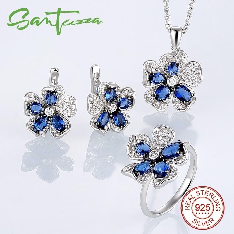 Jewelry Set-303513BLGZSK925 - 1