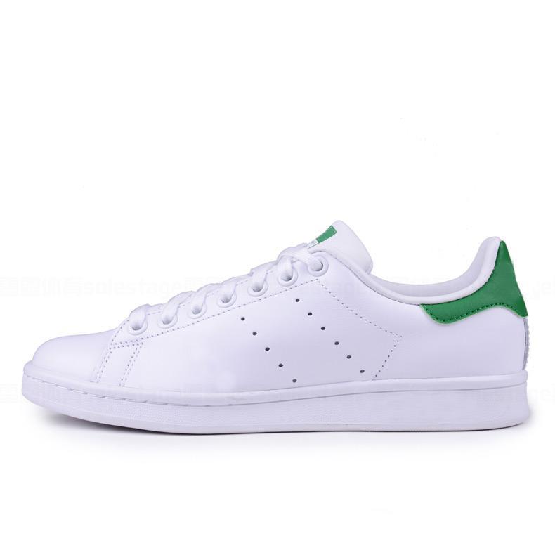 Smith Stan Pharrell Williams Rahat Ayakkabılar Erkek Kadın Klasik Moda Smith Sneakers Rahat Deri Spor Koşu Ayakkabıları Boyutu 36-46