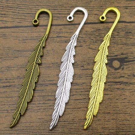segnalibro a forma di ganci della sirena Segnalibri della piuma del metallo dellannata 12pcs