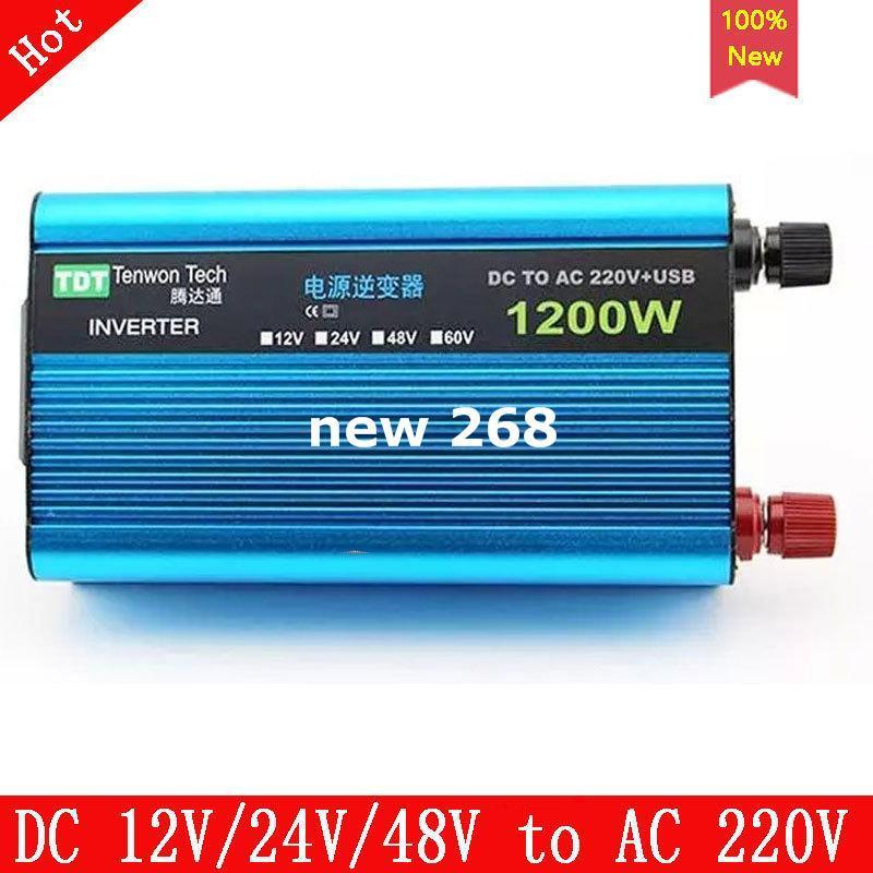 Energía Solar Inversor 600w Dc 12va ca 230v