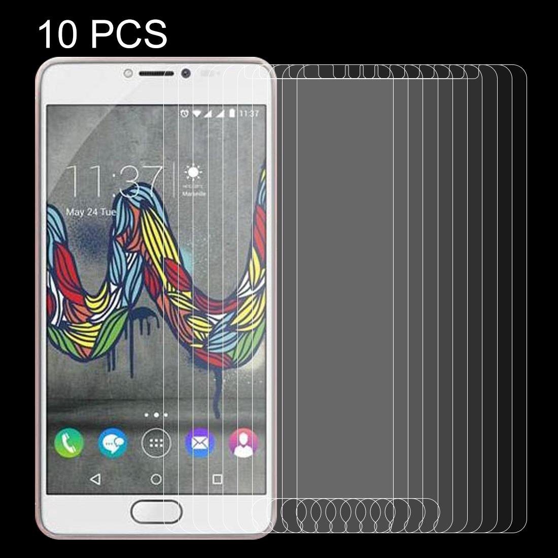No Retail Package Tempered Glass Film Mobile Phone Tempered Glass Film 50 PCS for Wiko U Feel Fab 0.26mm 9H Surface Hardness Explosion-Proof Non-Full Screen Tempered Glass Screen Film