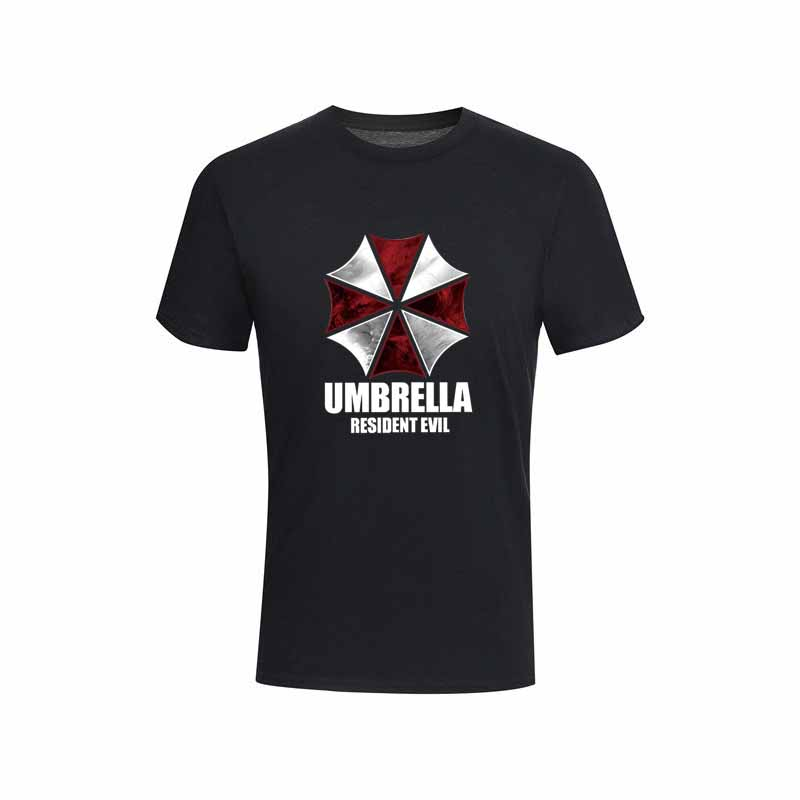 Resident Evil 4 Leon Kennedy Cosplay Grey T-Shirt Men/'s Casual Tactics Tight Tee