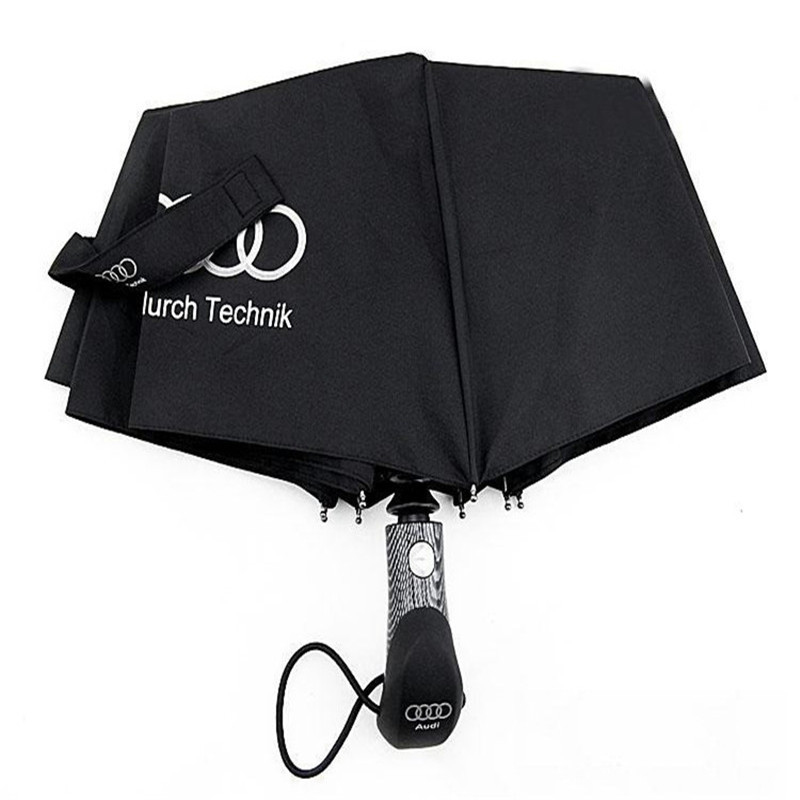 Best Umbrella 2020.2019 2020 High Quality Windproof Umbrella Automatic Internal And Rainproof Straight Hook Audi Europe And The United States Automatic Umbrella From