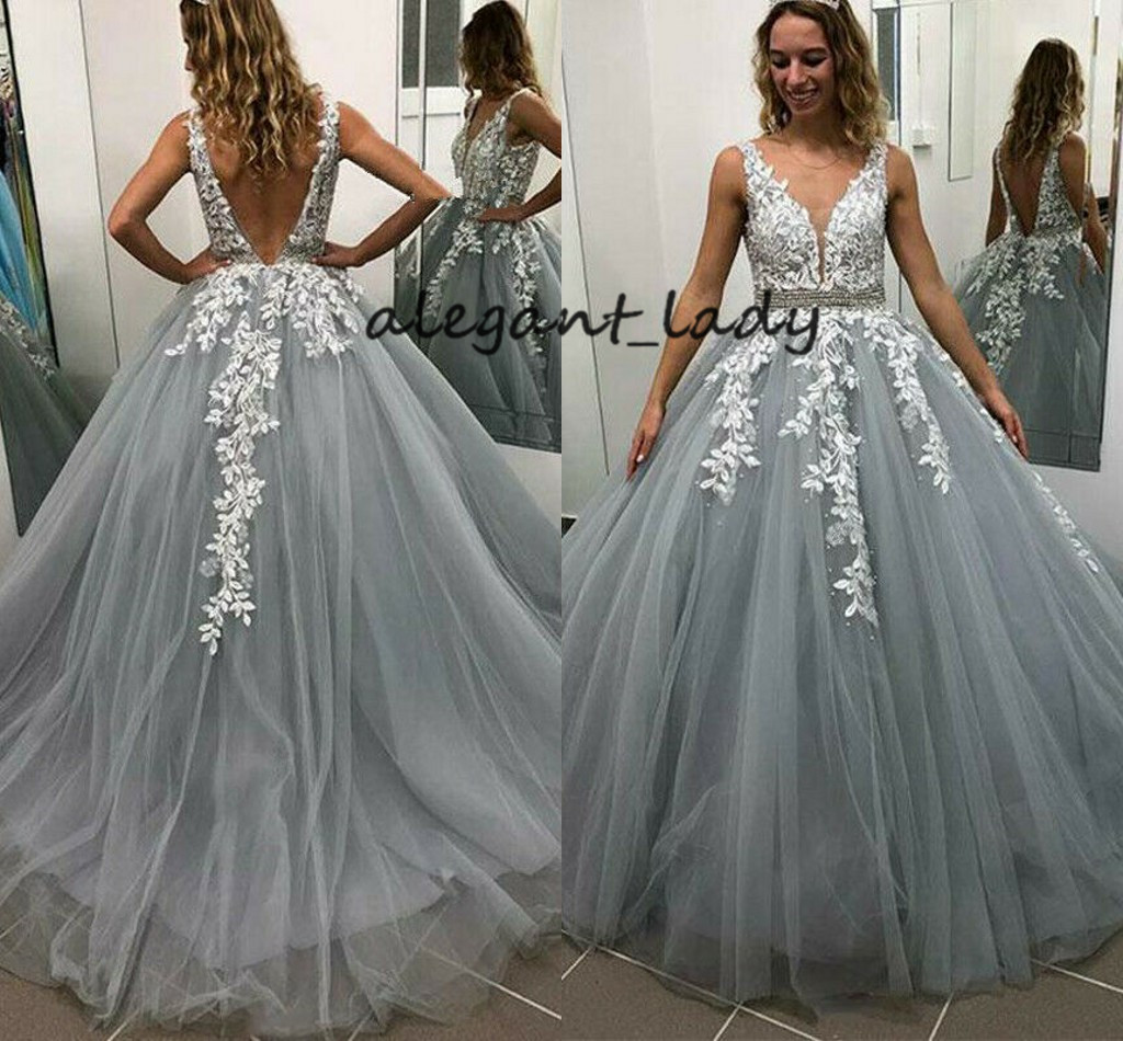 Spitze Perlen Gürtel Brautkleider Lange Ärmel Hochzeitskleid Festzug Abendkleid
