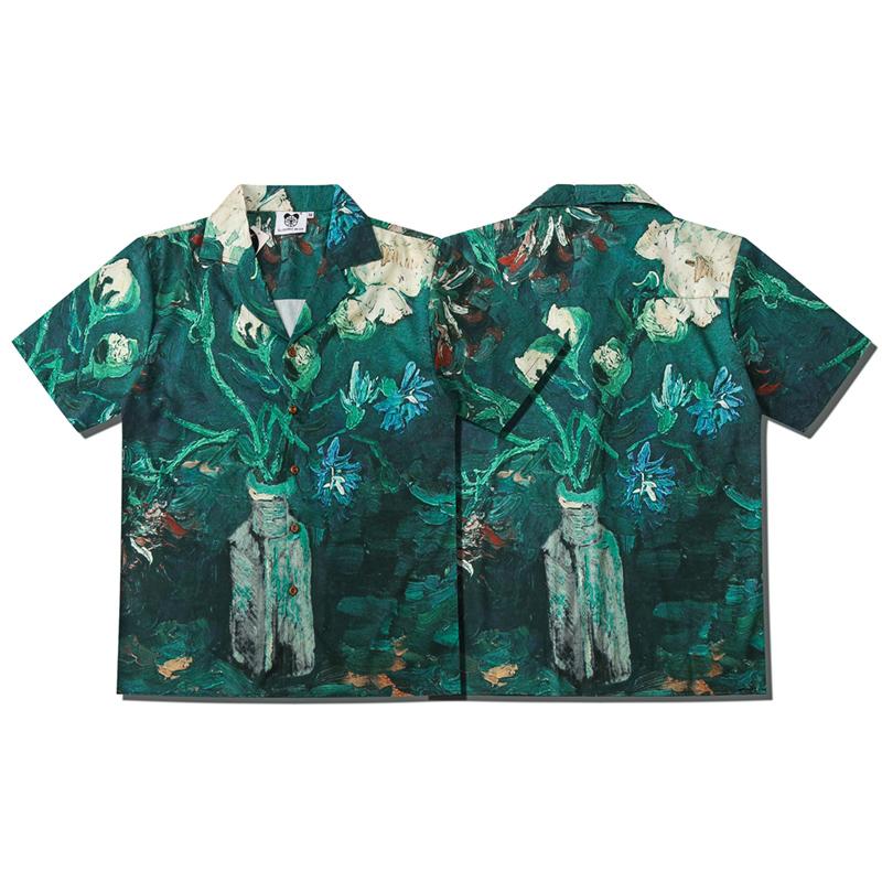 Classic T-Shirt,Blooming Fantasy Flora Fashion Personality Customization