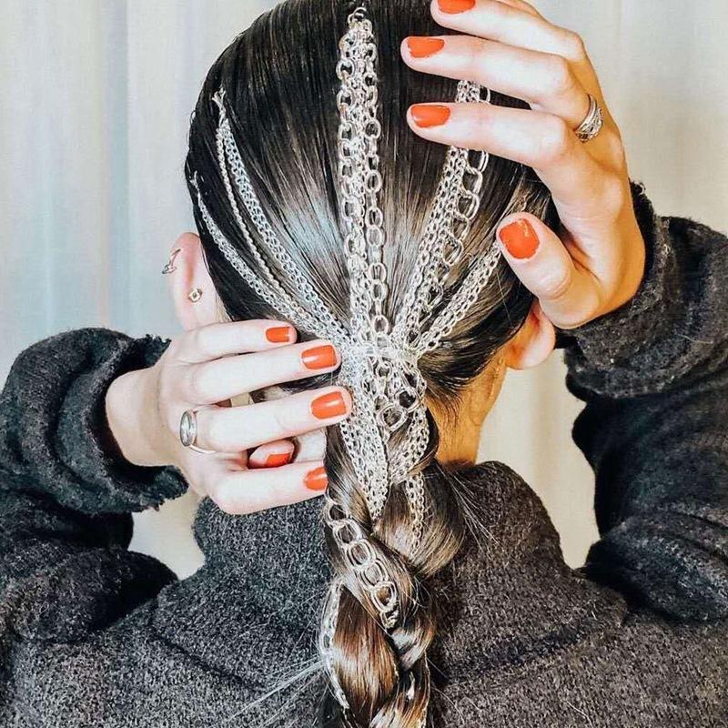 Wholesale 10//20 Black Rhodium Hairpin Hair Clips Snap Bulk Barrettes Accessories