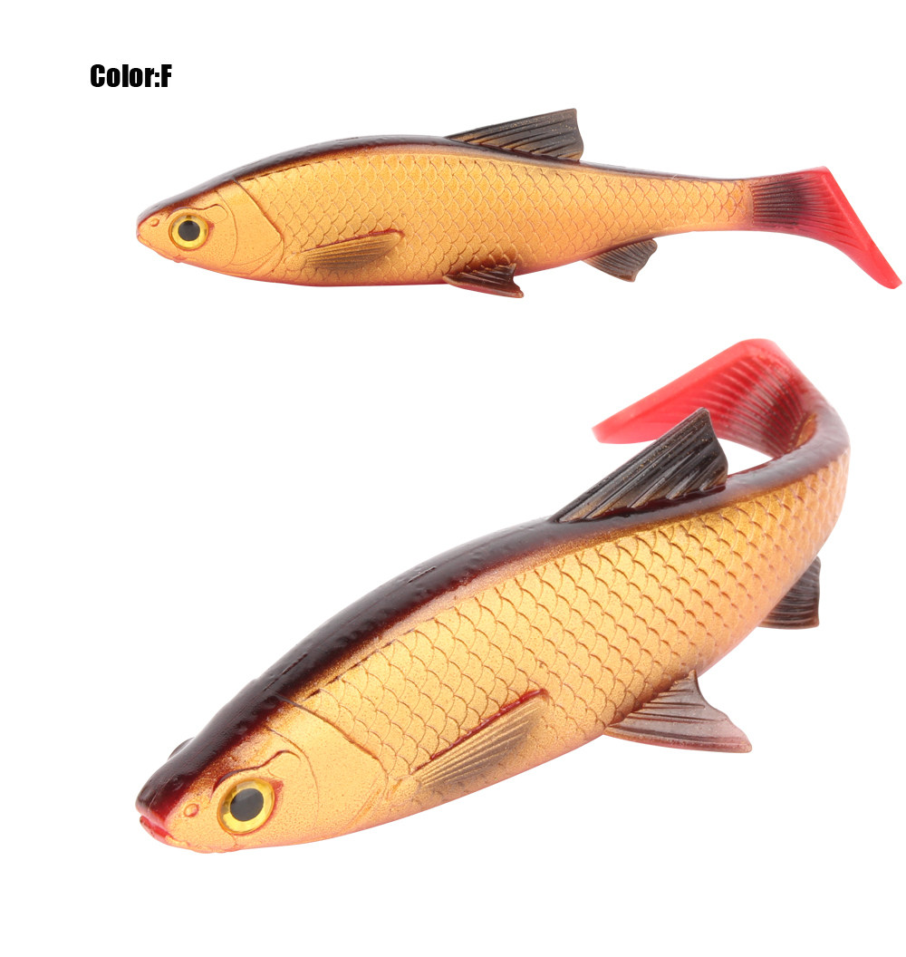 Spinpoler The perfect 3D Soft Bait Fishing Fish 5g 10g 20g 40g Silicone plastic Swimbait Shad Crankbait Use For Rig Fishing (3)