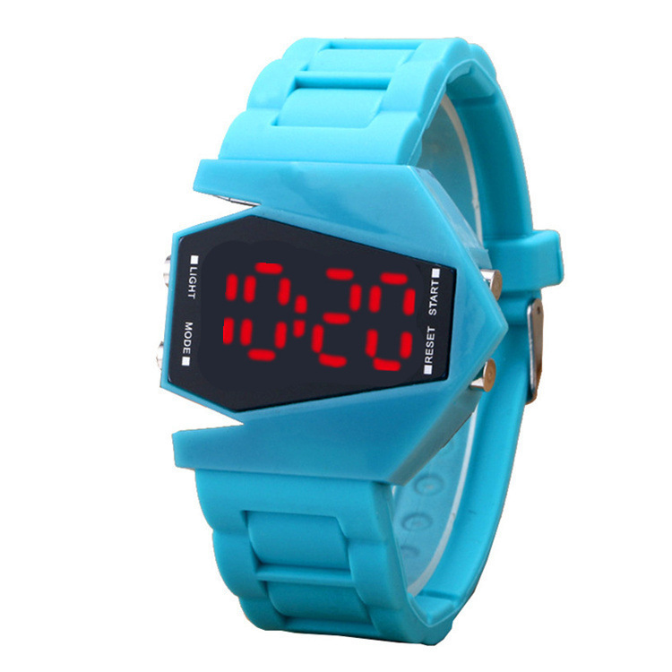 Fighter Motion Led Wrist Watch Cool Aircraft Wrist Watch Men And Women Student Wrist Watch