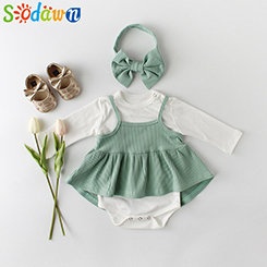 Baby-Kleidung-2019-Fr-hling-Neue-Baby-Kleidung-M-dchen-Einfarbig-Einteiliges-Kleid-Gurt-Kleid-Set.jpg_640x640