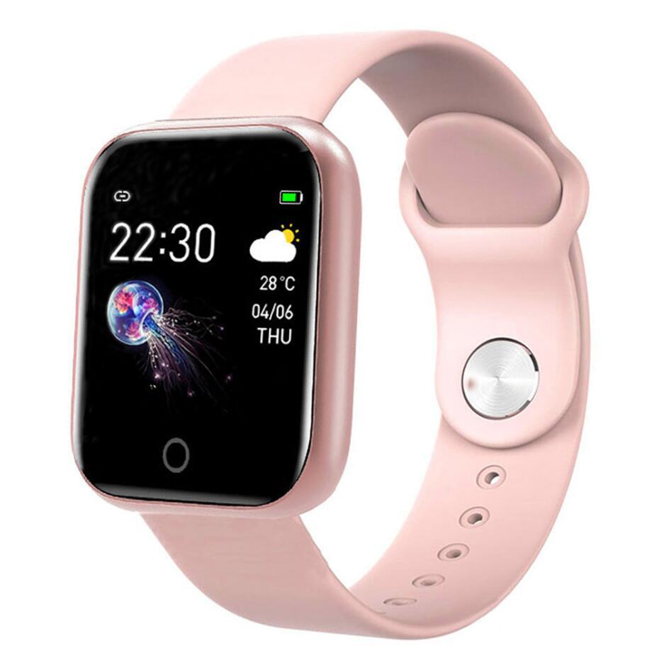 Smart Watch Women Men Smartwatch For Android IOS Electronics Smart Clock Fitness Tracker Silicone Strap Smart-watch Hours