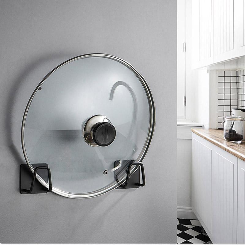 스테인레스 스틸 멀티 기능의 무료 저장 공간을 통해 문 주방 욕실 용 랙 랙 벽 스폰지 배수 핫 스티커 훅