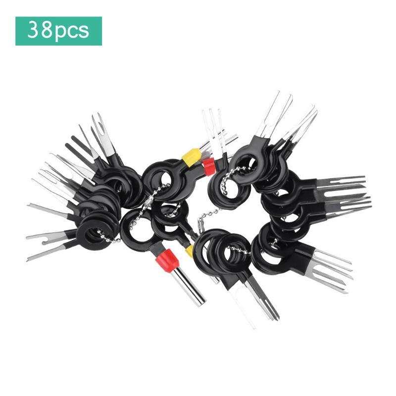 Conector del terminal de Cable Automático Herramienta de eliminación de liberación Crimp Pin Extractor 23Pcs//Kit