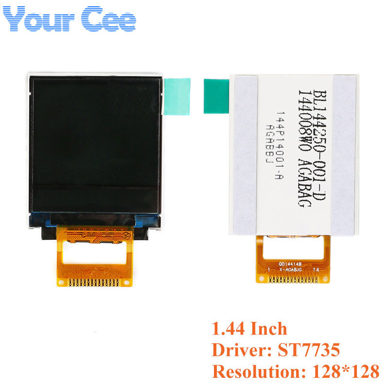 1.44 inch TFT Bare Screen LCD Display Module Drive ST7735 ILI9225 ILI9341