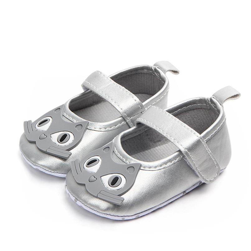 Newborn Baby Girl Cartoon Sneaker Soft Sole Anti-slip Single Shoes First Walker A84L77 (24)