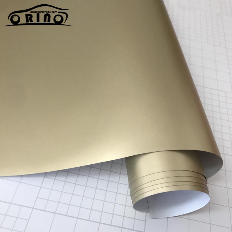 champagne gold metallic vinyl film-1
