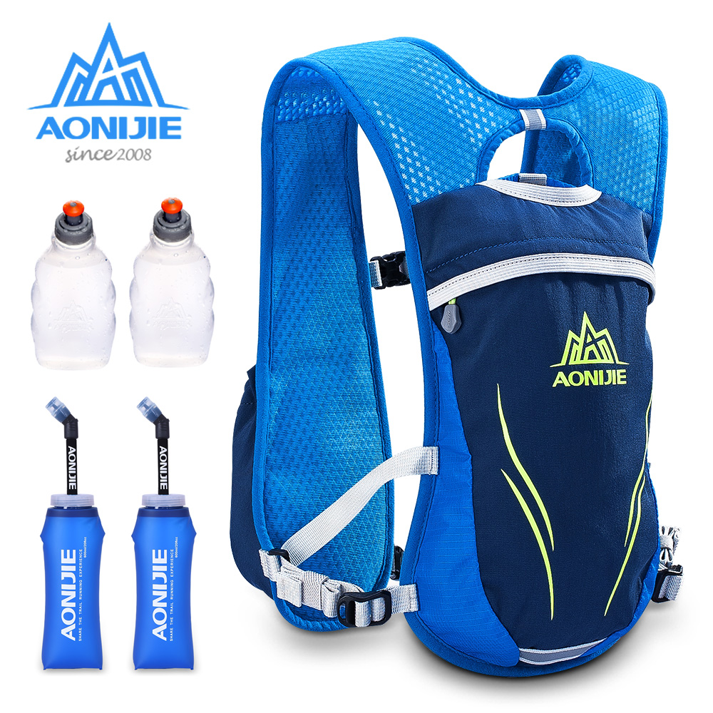 Aonijie E885S Lightweight 5.5L Hiking Backpack For Marathon Hiking Camping