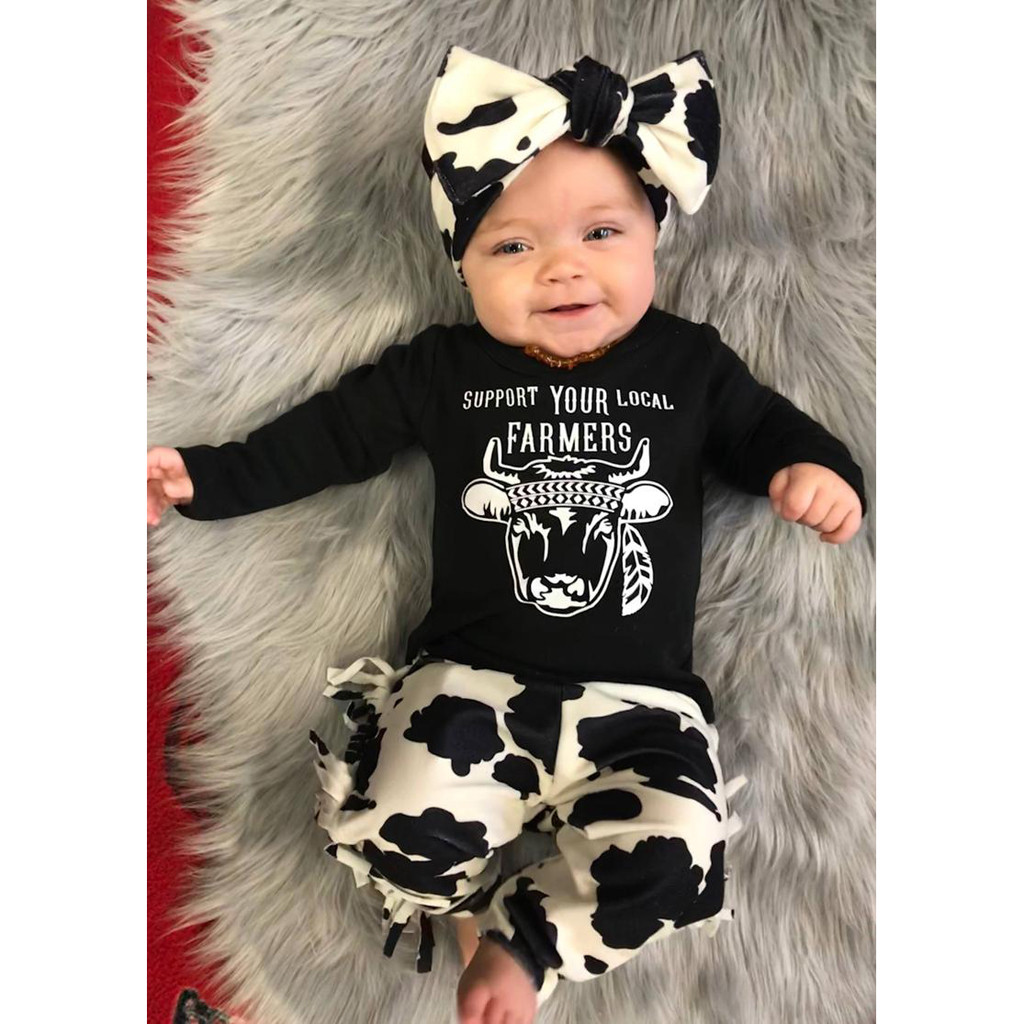 Baby Girl Daddy/'s Little Princess Romper Jumpsuit Long Sleeve Outfits Sets