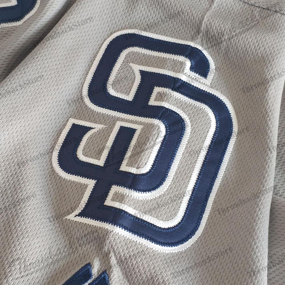 San Diego 2019 Padres Formalar Fernando Tatış Jr 23 Manny Machado 13 Tony Gwynn 19 Eric Hosmer Beyzbol Jersey