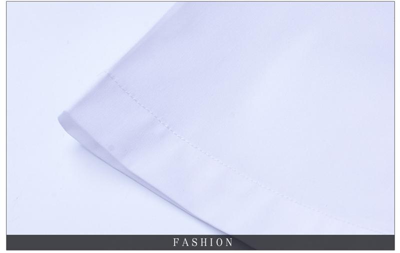 BROWON Brand New Formal Shirt Men Short Sleeve Shirt Turn Down Color Slim Fit Casual Shirt Plus Size M-5XL Camisa Masculina18