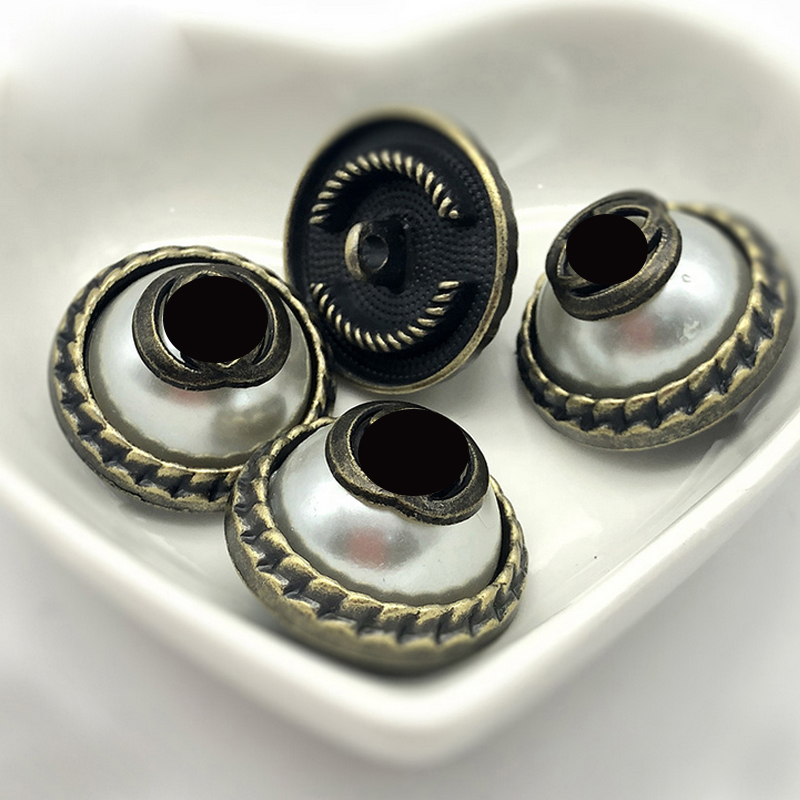 acolchado Botones .10 St. plata botones bling polsterknopfe buttons reticente