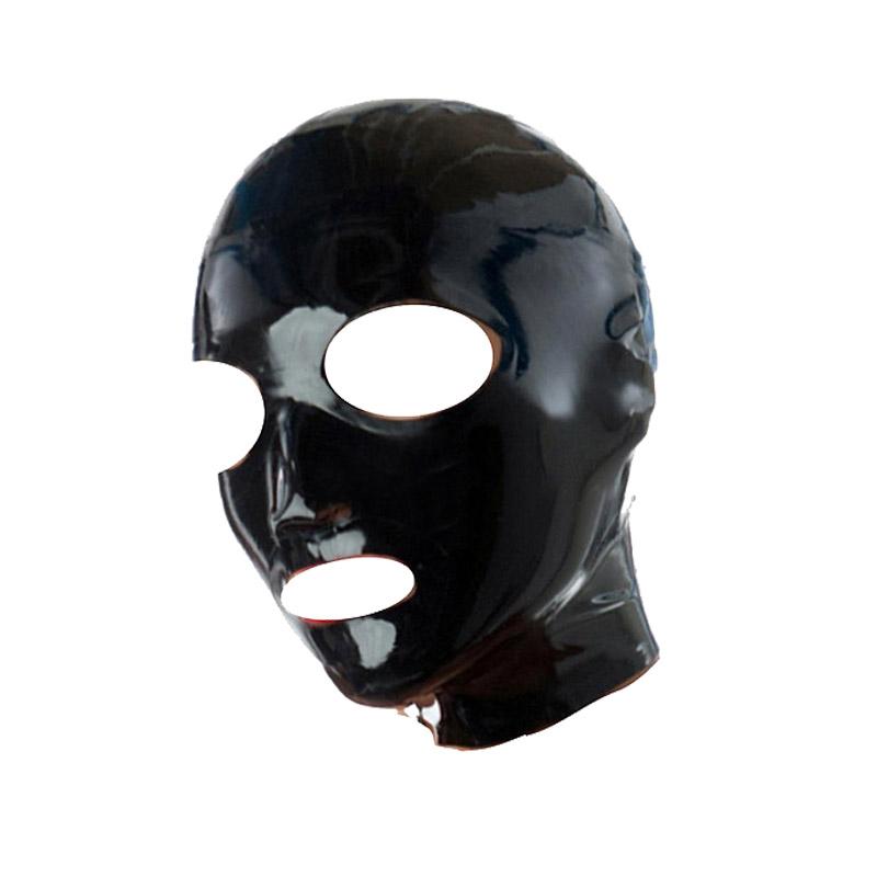 New 100/% Latex Rubber Masquerade Unique Complete  Mask 0.4mm Pink XXS-XXL