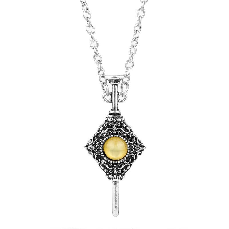 Démon Sang Bouteille Collier pendentif épée charme Inspiré ton argent bijoux