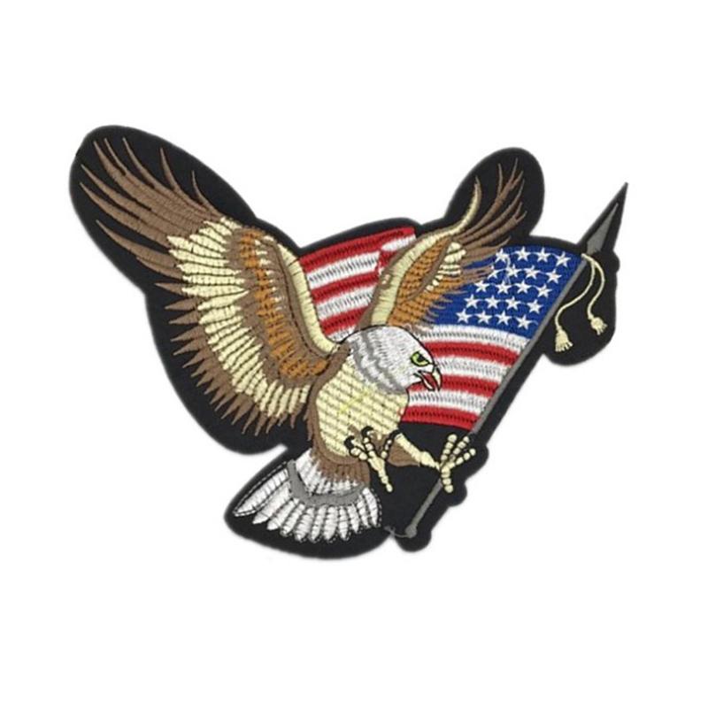 AMERICAN EAGLES USA Drapeau Militaire Armée Oiseau Animal Vêtements T-shirt iron on patch