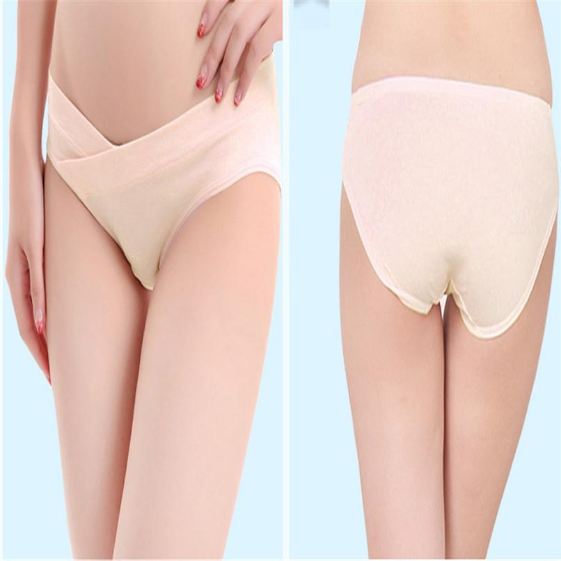 Cotton Maternity Panties Low-Waist Underwear Pregnant Women Underwear A84L0610 (3)
