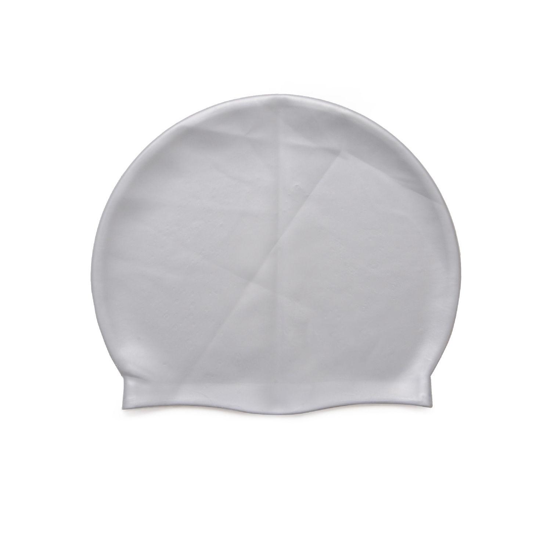 Elastic Swimming Hat Protect Ears Long Hair Water Sports Inflatable Swim Pool Hats Swimming Cap Caps For Men & Women Adults