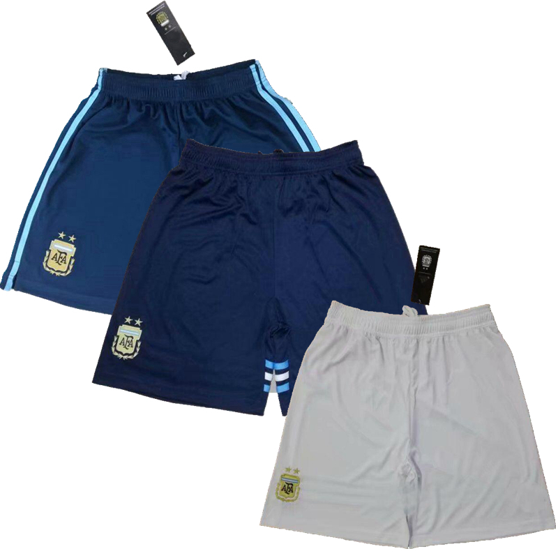 Argentina Flag Womens Shorts Drawstring Sports Pants S-L