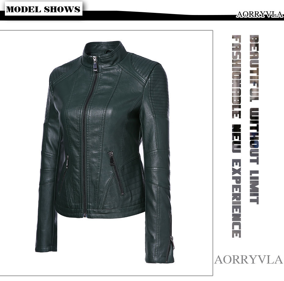 Faux Leather Jacket (1)