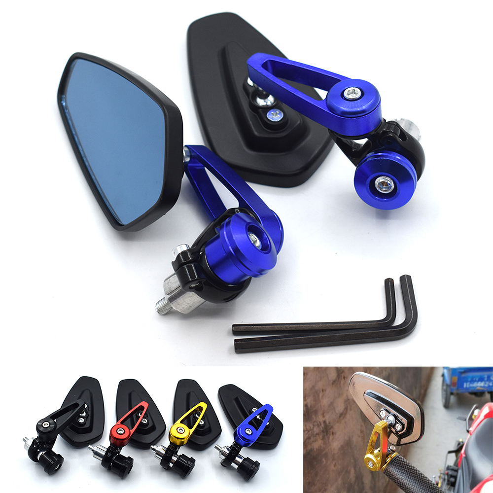 Pair of Sports Mirrors 8mm 10mm For KTM 990 Adventure S 2008 990 CC