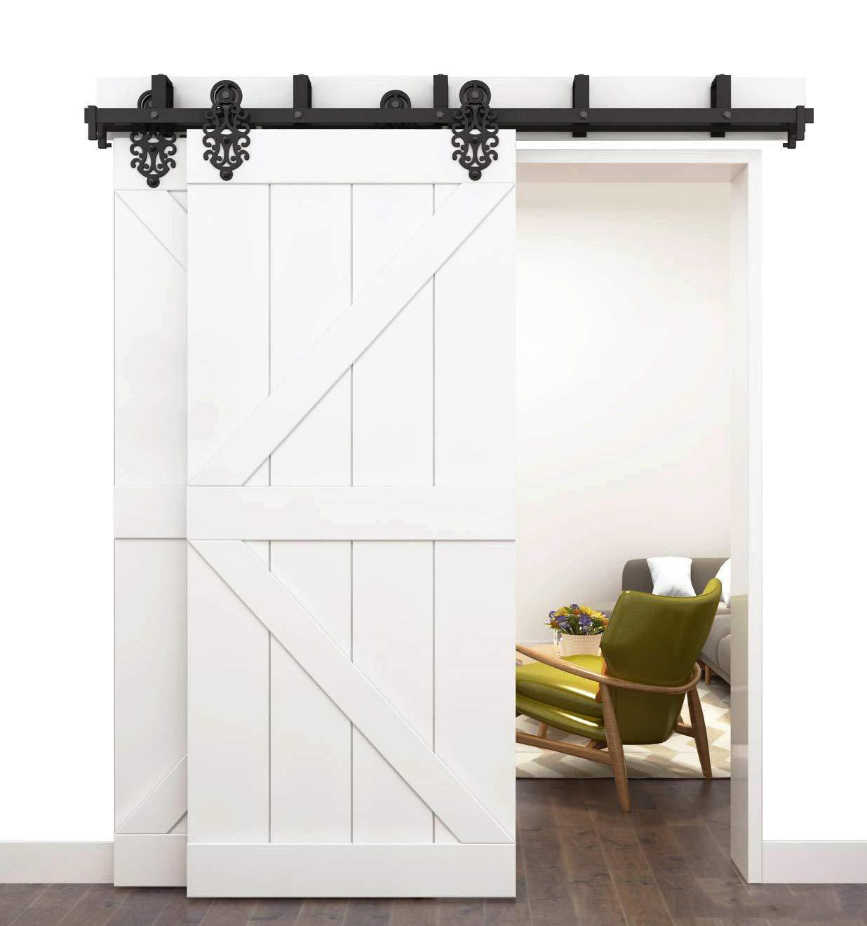 Wholesale Double Sliding Barn Door Track Buy Cheap In Bulk From China Suppliers With Coupon Dhgate Com