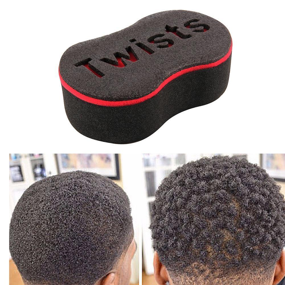 Shape Barber Tool Hair Sponge Brush for Dreads Locking Wave Twists Coil Curl Hair Curler