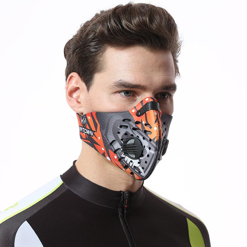 Protection Masque Visage Extérieur Sports Été Riding Course Escalade Coupe Vent