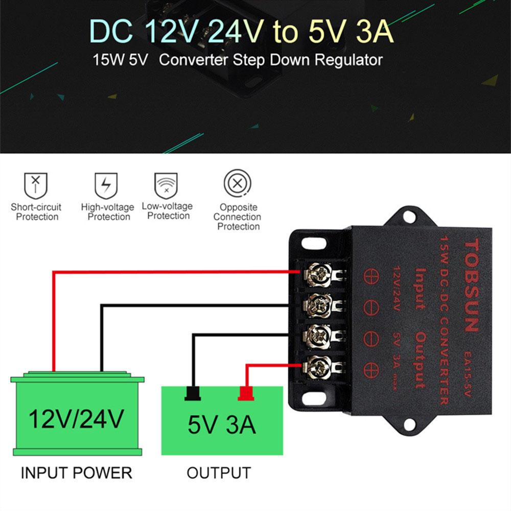 Lm2596s DC-DC CONVERTITORE BUCK alimentazione regolabile Step Down Modulo-UK STOCK