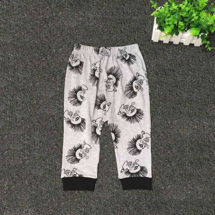 2019 Nuovo 2 pz Neonato Toddler Bambini Manica Corta Teschio Neonato Neonate Vestiti Estivi In Cotone T-Shirt Pantaloni Outfit Set