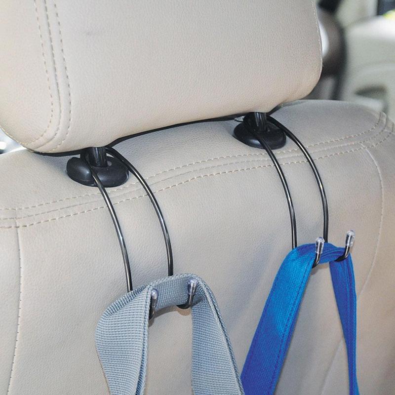 1Pc Auto Car Seat Truck Coat Hook Purse Organizer Bag Hanger Holder Accessories
