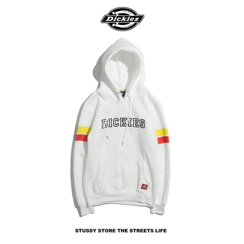 Mens Hoodies Striped Letters Brand Hooded Plus Velvet Sweater Designer Clothing for Men Hot Sale